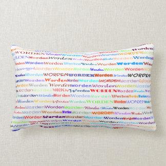 Worden Text Design II Lumbar Pillow