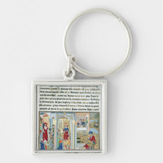 Wordly Things, from 'Le Miroir d'Humilite' Keychain