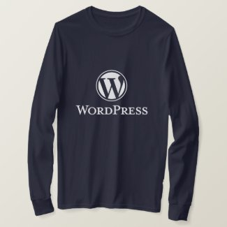 Wordpress T-Shirt (Navy)