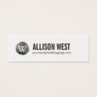 Wordpress business cards templates zazzle wordpress webpage networking card reheart Gallery