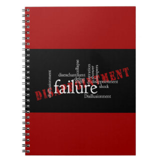 words-416435 words letters disillusionment disillu spiral note book