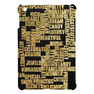 words about girls case for the iPad mini