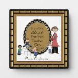 Word's Best Daycare Preschool Teacher Plaque