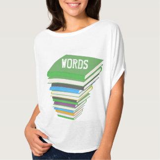 WORDS (BOOKSTACK)  Bella Flowy Circle Top Shirt