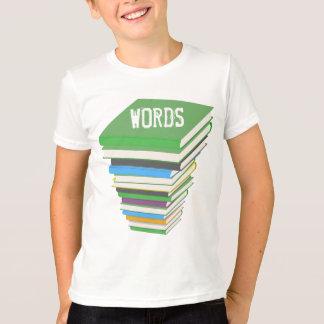 WORDS (BOOKSTACK)   Kids American Apparel T-Shirt