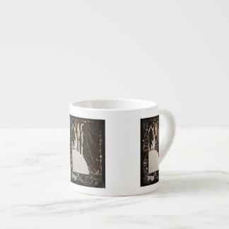 Word's Byrds on Black Espresso Cup