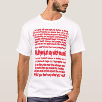 Words Can Hurt T-Shirt