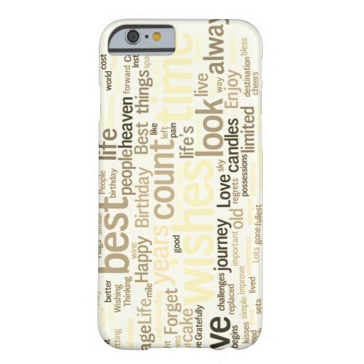 words barely there iPhone 6 case
