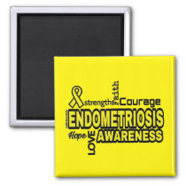 Words...Endometriosis Magnet