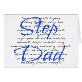 Words For a Step Dad Card