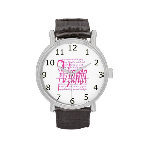 Words for Mama Wrist Watch