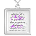 Words for Mother-in-Law Custom Jewelry