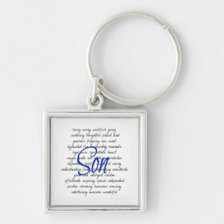 Words for Son Keychain
