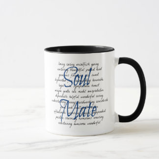 Words for Soul Mate Mug