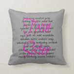 Words for Twin Sister Pillow