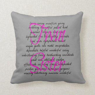 Words for Twin Sister Throw Pillow