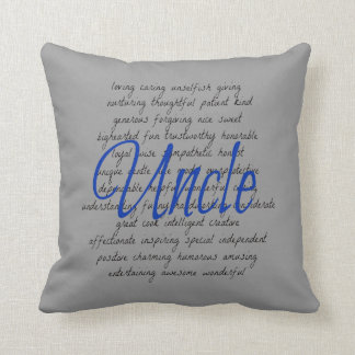Words for Uncle Throw Pillow