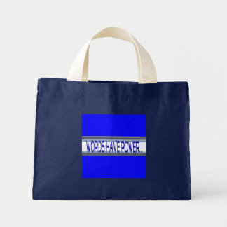 Words Have Power Impulse Bag