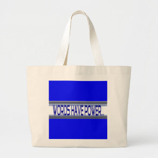 Words Have Power Tote