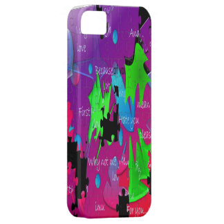 Words Iphone 5 Cover Skin