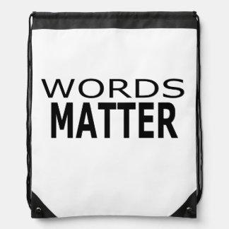 Words Matter Backpack