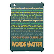 Words Matter iPad Case
