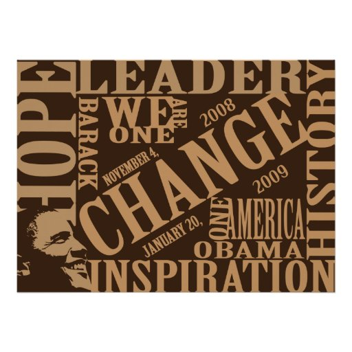 Words Of Change Print