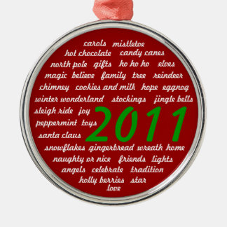 Words of Christmas Ornament