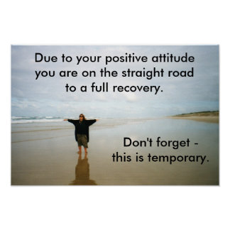 Words of Encouragement Poster