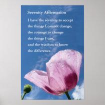Words of Encouragement Poster Serenity