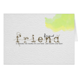words of endearment card