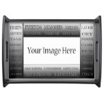 Words Of Friendship-Picture Frame Serving Trays