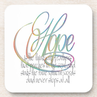 Words Of Hope Coaster