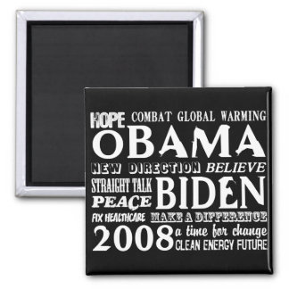 Words of Hope Obama & Biden 2008 Magnet 2