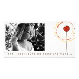 words of hope picture cards photo card template
