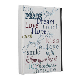 Words of Inspiration iPad Folio Covers