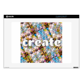 """Words of Inspiration - Create 15"""" Laptop Skins"""