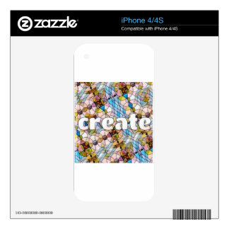 Words of Inspiration - Create iPhone 4S Decal