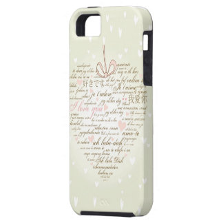 Words of Love Heart Case-Mate iPhone 5/5S Case
