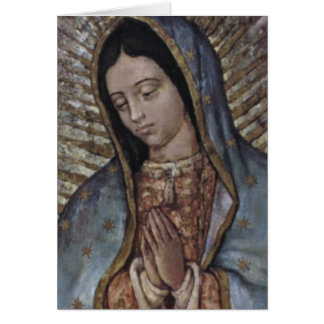 WORDS OF OUR LADY CARD