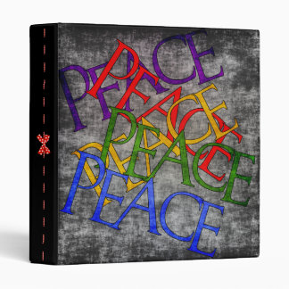 Words of Peace 3 Ring Binder