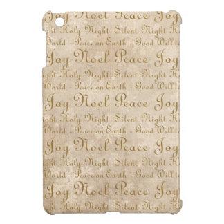 Words of Peace Joy Noel Holy Night iPad Mini Cover