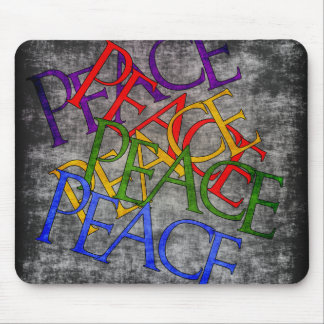 Words of Peace Mouse Pad