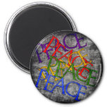 Words of Peace Refrigerator Magnet