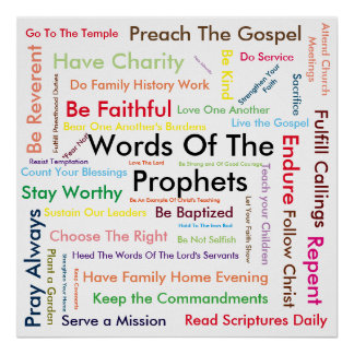 Words Of The Prophets poster