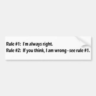 Words of wisdom 15 car bumper sticker