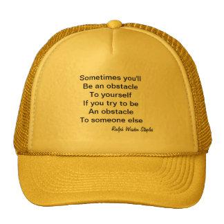 Words of Wisdom Hat