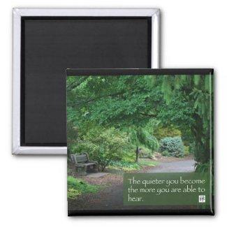 Words of Zen Wisdom zazzle_magnet
