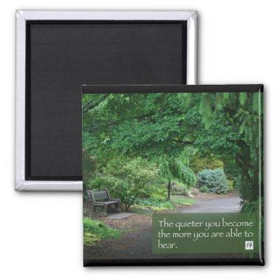 Words of Zen Wisdom Refrigerator Magnets