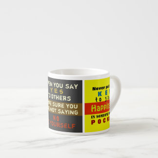 Words on a Mug ~ Espresso Mug